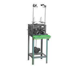 الصين Single Bobbin Winding Machine , Multi Strand Polyester Filament Yarn Bobbin Winder المزود